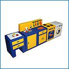 Модульный кухонный набор